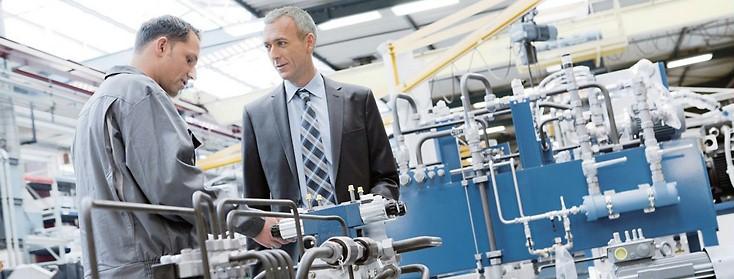 Modernisierung Industriehydraulik