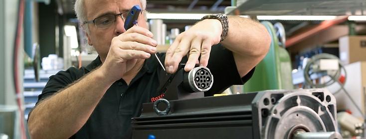 Reparaturen Elektrische Antriebe und Steuerungen