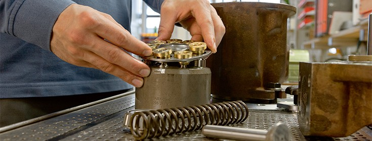 Reparaturen Industriehydraulik