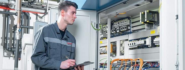 Modernisierung elektrische Antriebe