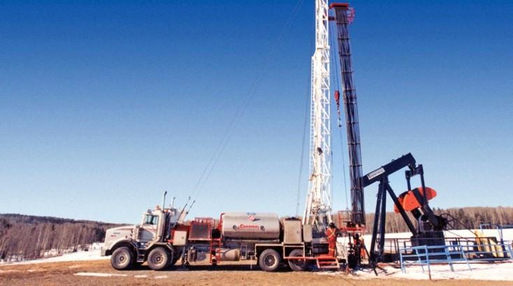 Bohranlagen für Öl und Gas
